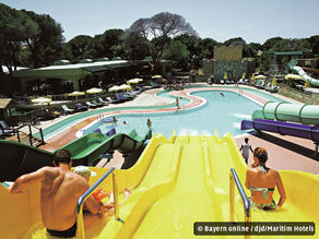 Paradies für Wasserratten: Aquapark im Pine Beach Resort Belek