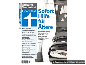 Cover Finanztest Juni 2013